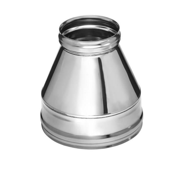 Конус Феррум нержавеющий 430/0,5 мм, d 120/200, по воде