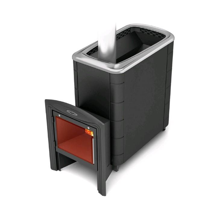 Печь для бани Термофор Тунгуска XXL 2013 Carbon Витра, антрацит