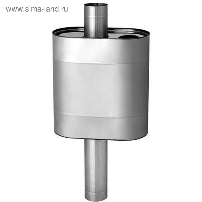 Бак Феррум Комфорт самоварного типа, 70 л, нержавеющий AISI 201/1,0 мм, d 115 мм, эллипс