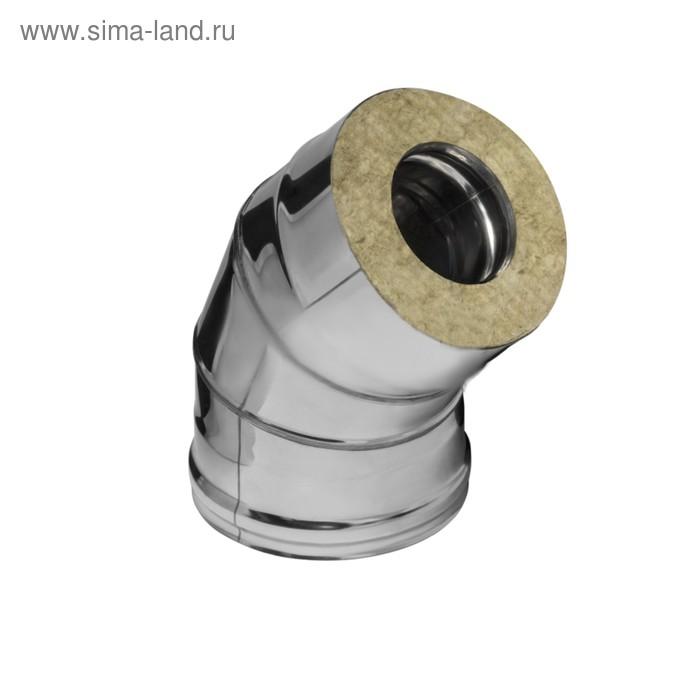 Колено Феррум утепленное угол 135° нержавеющее 430/0,5мм, оцинкованное, d 150/210 мм, по воде   1656