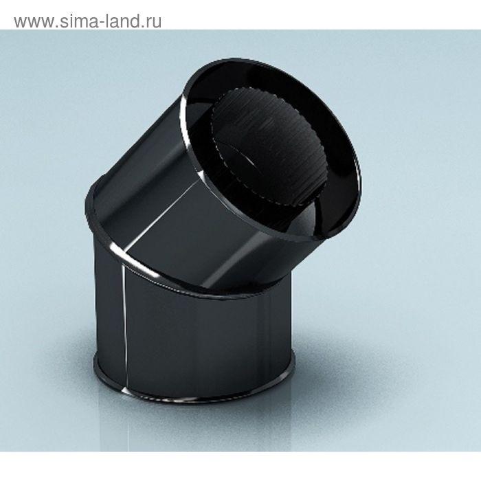 Колено Agni утепленное угол 135°, эмалированное, 0,8, d-115/200 мм