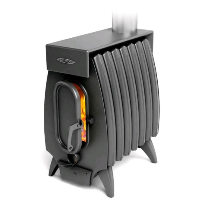 Печь отопительно-варочная ТМФ Огонь-батарея 7 Лайт, дровяная, антрацит
