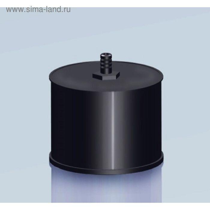 Заглушка Agni М с конденсатоотводом, эмалированная, 0,8, d-200