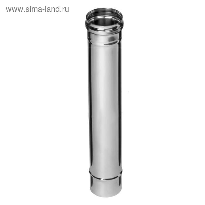 Дымоход Феррум нержавеющий 439/0,8 мм, d 120, L=0,5м