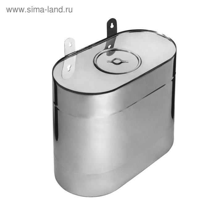 Бак Феррум Комфорт выносной, 60 л, нержавеющий AISI 201/1,0 мм, вертикальный эллипс