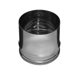 Заглушка Феррум П внутренняя нержавеющая 430/0,5 мм, d 130