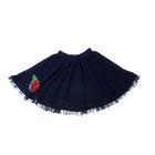 "Юбка для девочки ""Королева цветов"", рост 140 см (72), цвет темно-синий"