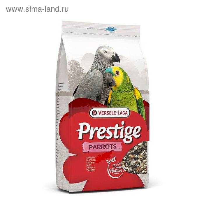 Корм VERSELE-LAGA Prestige Parrots для крупных попугаев, 3 кг