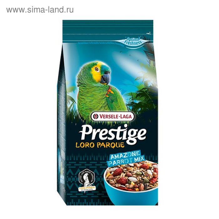 Корм VERSELE-LAGA Prestige PREMIUM Amazone Parrot Loro Parque Mix  для крупных попугаев, 1 кг   1656