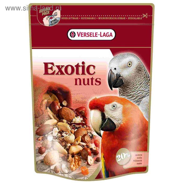 Корм VERSELE-LAGA  Exotic Nuts  для крупных попугаев с орехами, 750 г