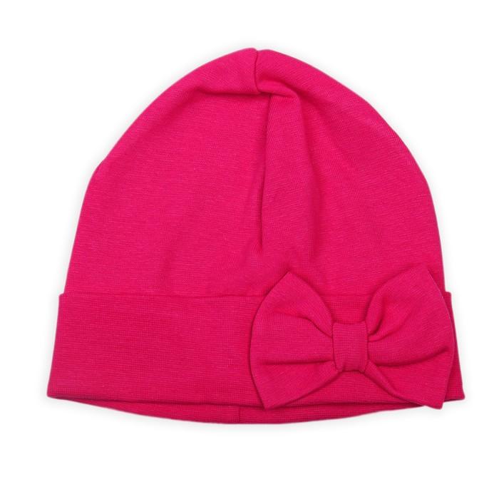 """Головной убор """"Ветер"""", размер 54, цвет ярко-розовый"""