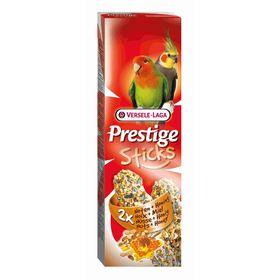 Палочки VERSELE-LAGA Prestige для средних попугаев, орехи/мед, 2х70 г.