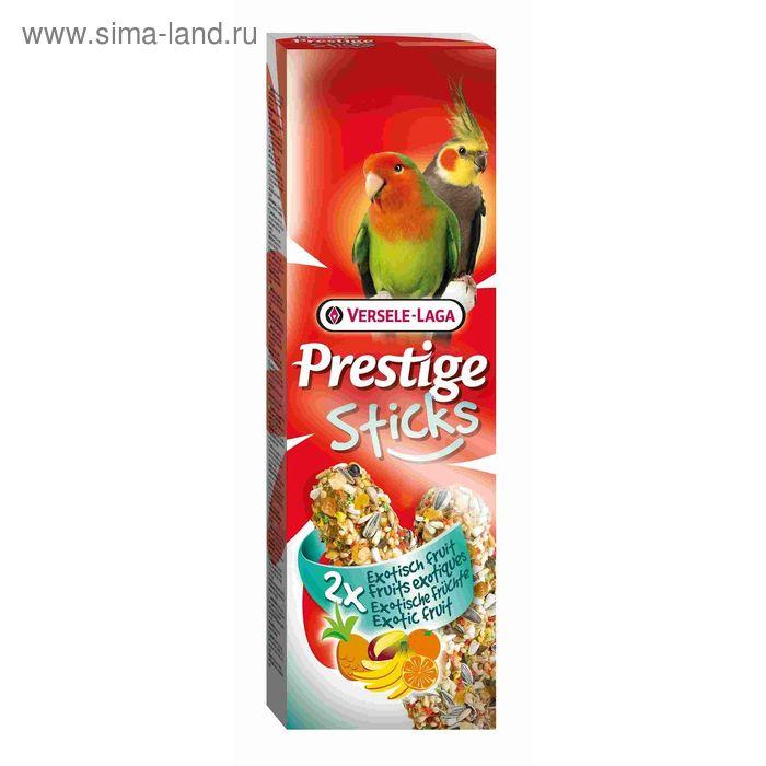 Палочки VERSELE-LAGA  Prestige для средних попугаев, с экзотическими фруктами, 2х70 г