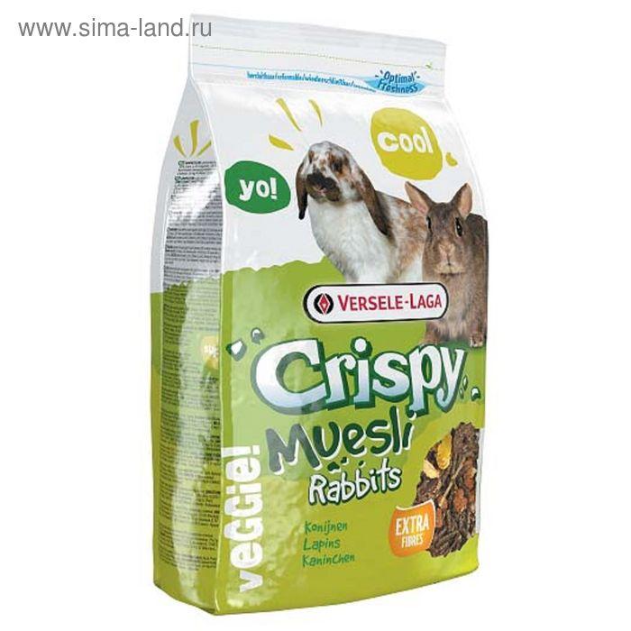 Корм VERSELE-LAGA Crispy Muesli Rabbits для кроликов, 400 г