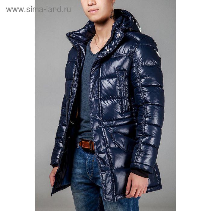 Куртка мужская зимняя, размер 54, цвет синий 150-350