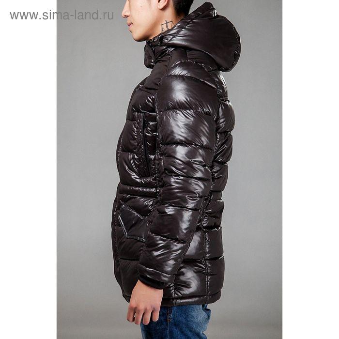 Куртка мужская зимняя, размер 50, цвет чёрный 150-350