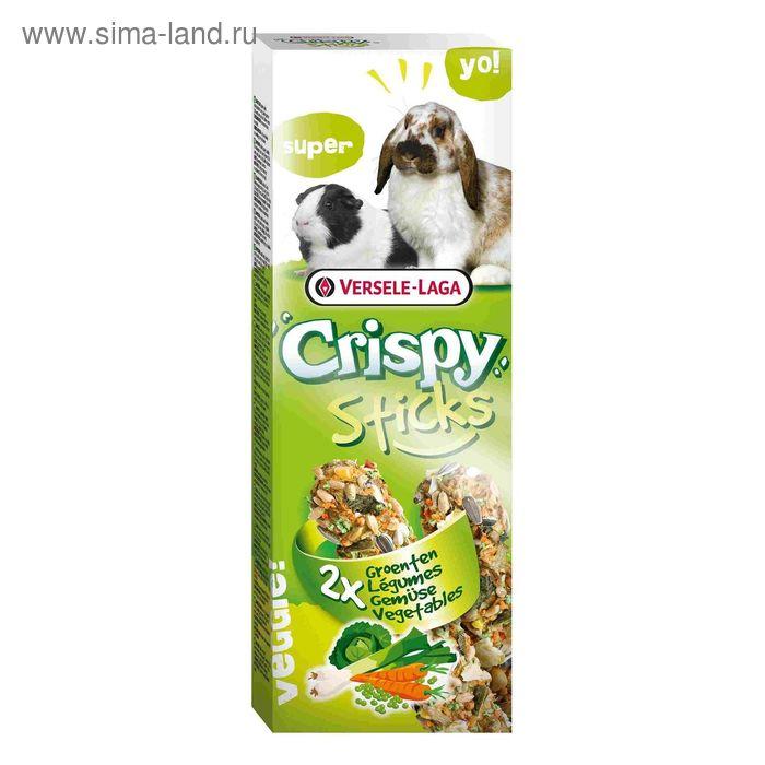 Палочки VERSELE-LAGA Crispy  для кроликов и морских свинок, с овощами, 2х55 г