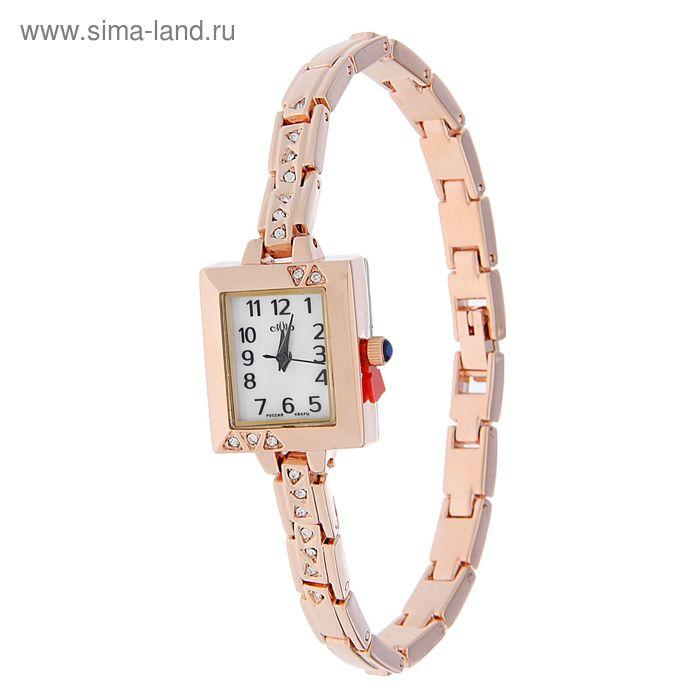 """Часы наручные женские """"Каприз"""" кварцевые модель 519-8-4"""