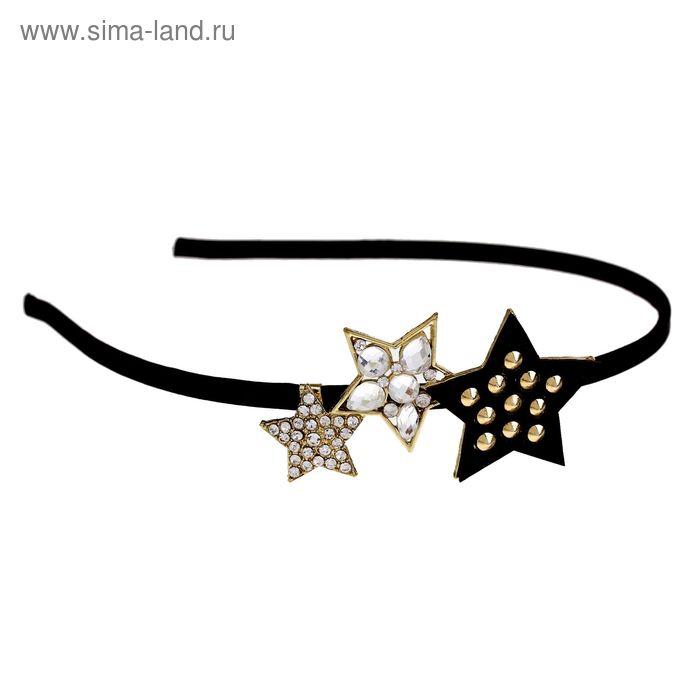 """Ободок для волос """"Амодеус"""" звёзды"""