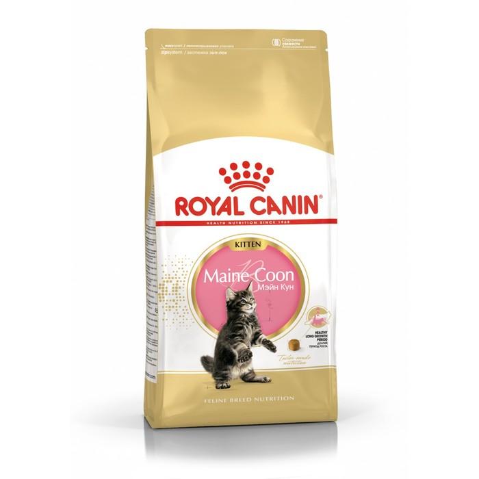 Сухой корм RC Kitten Maine Coon для котят крупных пород, 2 кг