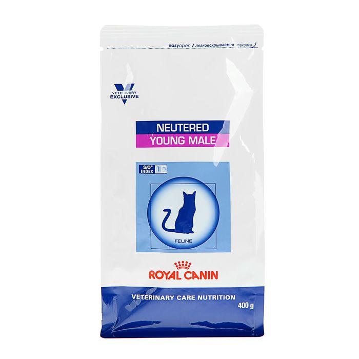 Сухой корм RC VCN Neutered Young Male для кастрированных котов, 400 г
