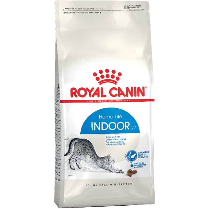 Сухой корм RC Indoor для кошек живущих в помещении, 400 г