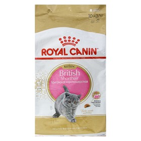 Сухой корм RC Kitten British Shorthair для британских котят, 10 кг