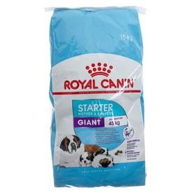 Сухой корм RC Giant Starter для кормящих собак и щенков, 15 кг