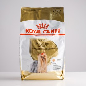 Сухой корм RC Yorkshire Terrier Adult для йоркширского терьера, 3 кг