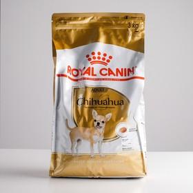 Сухой корм RC Chihuahua Adult для чихуахуа, 3 кг