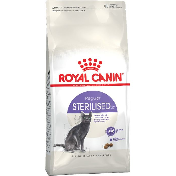 Сухой корм RC Sterilised 37 для стерилизованных кошек, 4 кг