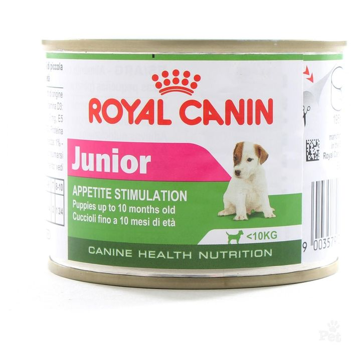 Влажный корм RC Junior Mousse для щенков, ж/б, 195 г