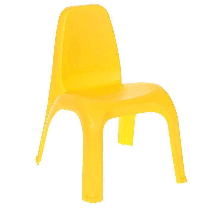 Стул детский, цвет жёлтый