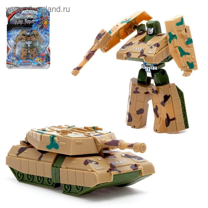 """Робот-трансформер """"Автобот"""", МИКС"""