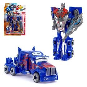 Робот «Герой», трансформируется, цвета МИКС