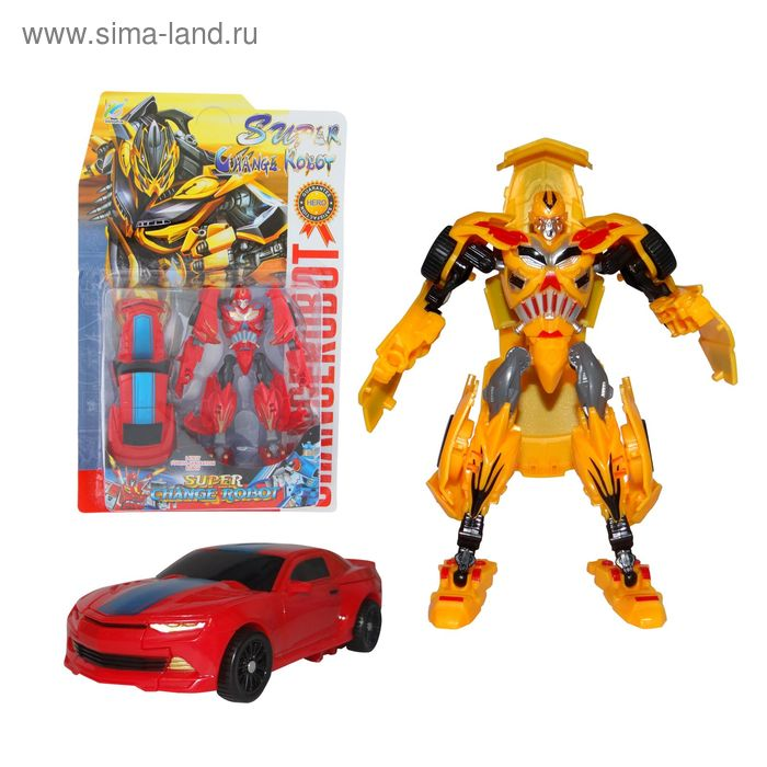 """Робот-трансформер """"Автобот"""", цвета МИКС"""