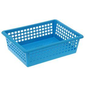 Корзинка универсальная 31×40×13 см, цвет голубой