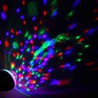 Лампа хрустальный шар диаметр 8 см. два режима, V220, цоколь Е27