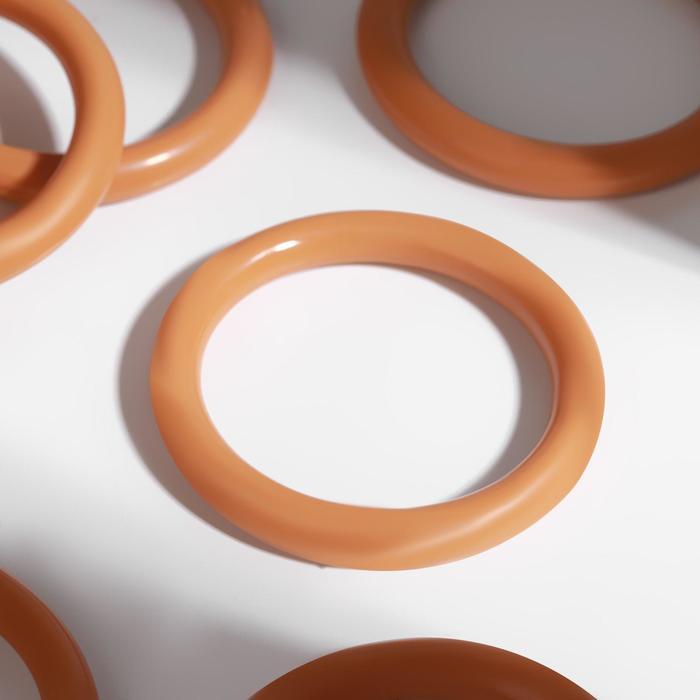 Кольцо для штор, d = 37/48 мм, цвет бук