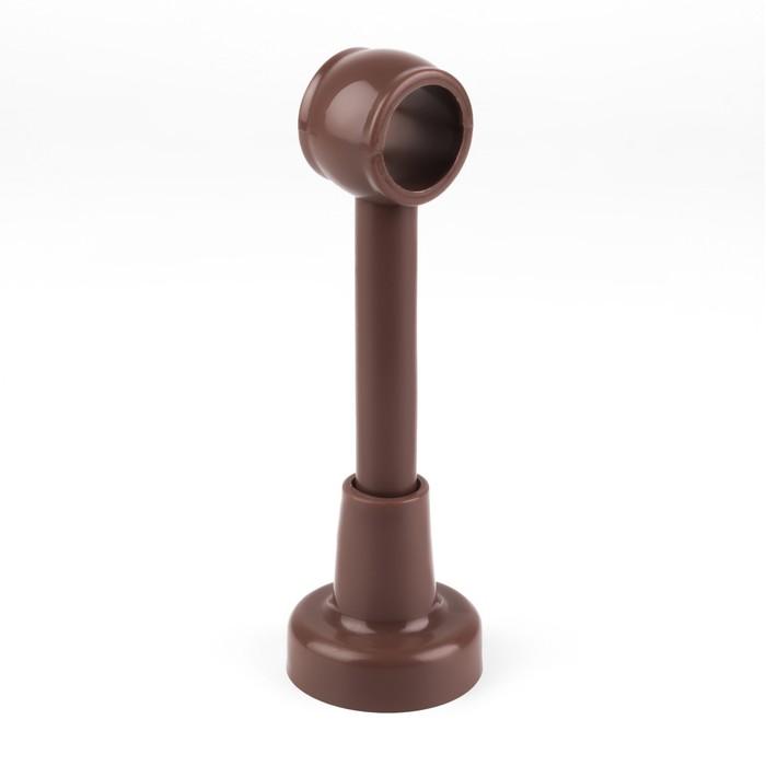 Кронштейн для карниза, d = 2,8 см, цвет орех