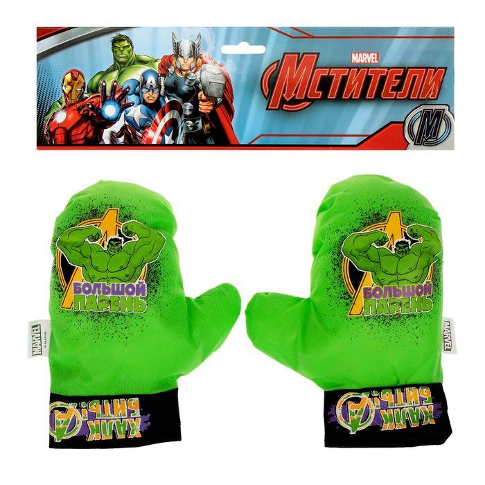 """Набор для бокса """"Большой парень"""", 2 перчатки, Мстители"""