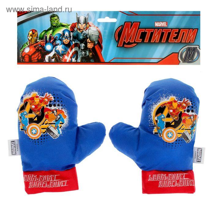 "Набор для бокса ""Суперсила! Суперудар!"", 2 перчатки, Мстители"