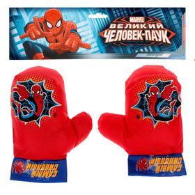 Набор для бокса 'Самый сильный', 2 перчатки, Человек-Паук Ош