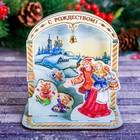 Настольный сувенир «Народные гулянья. С Рождеством!»
