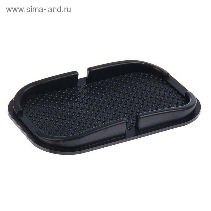 Противоскользящий коврик-держатель Luazon, 19х12 см, черный