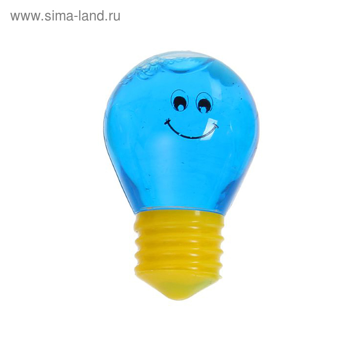 "Лизун ""Лампочка"", твёрдый, цвета МИКС"