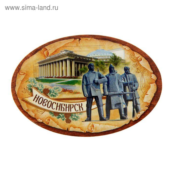 """Магнит открывашка """"Новосибирск"""""""