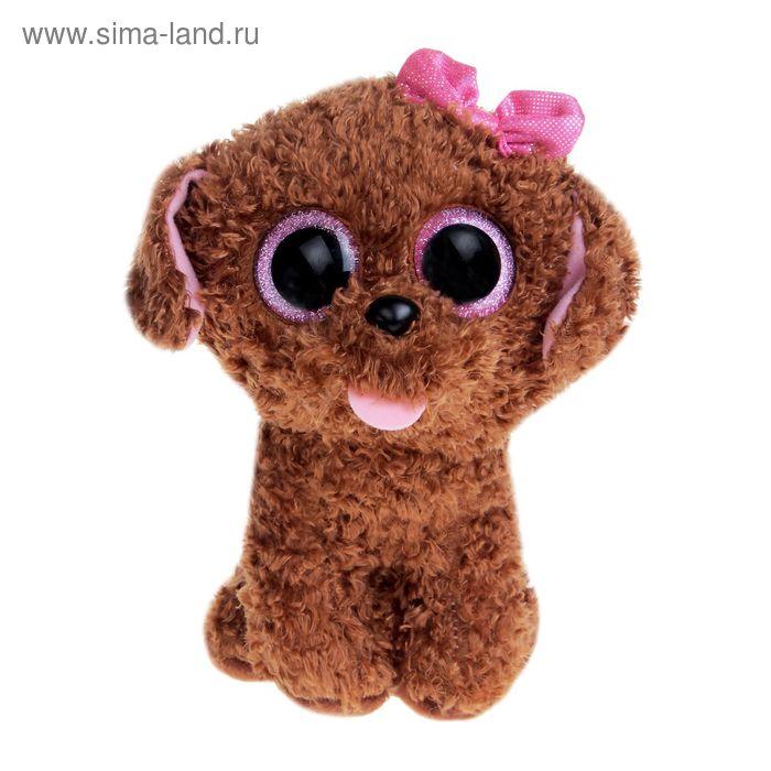 Мягкая игрушка «Щенок Maddie», цвет коричневый