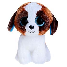 Мягкая игрушка «Щенок» Duke, цвет коричнево-белый