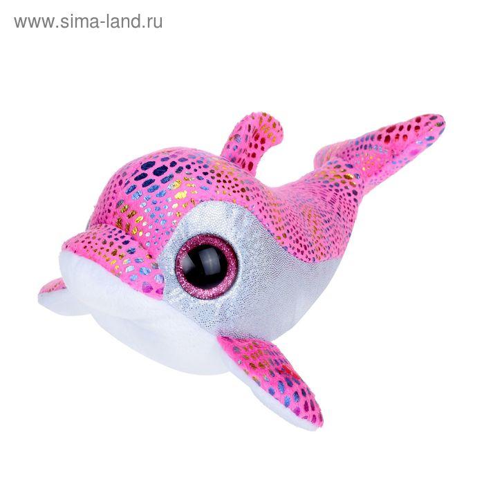 Мягкая игрушка «Дельфин Sparkles», цвет розовый